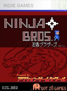 Ninja Bros. Xbox 360 Front Cover 1st version
