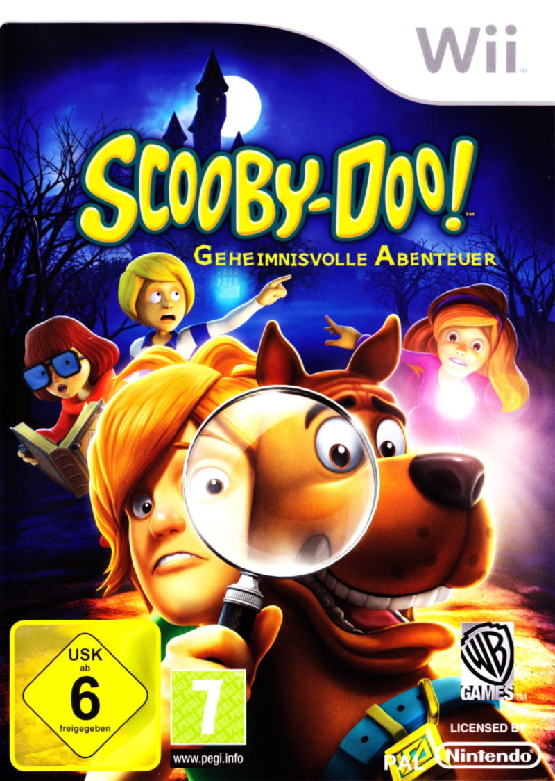 Scooby-Doo!: First Frights Wii Front Cover