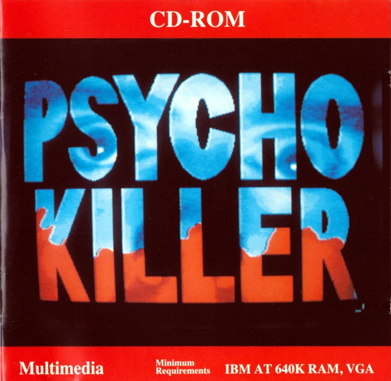 Psycho Killer DOS Front Cover