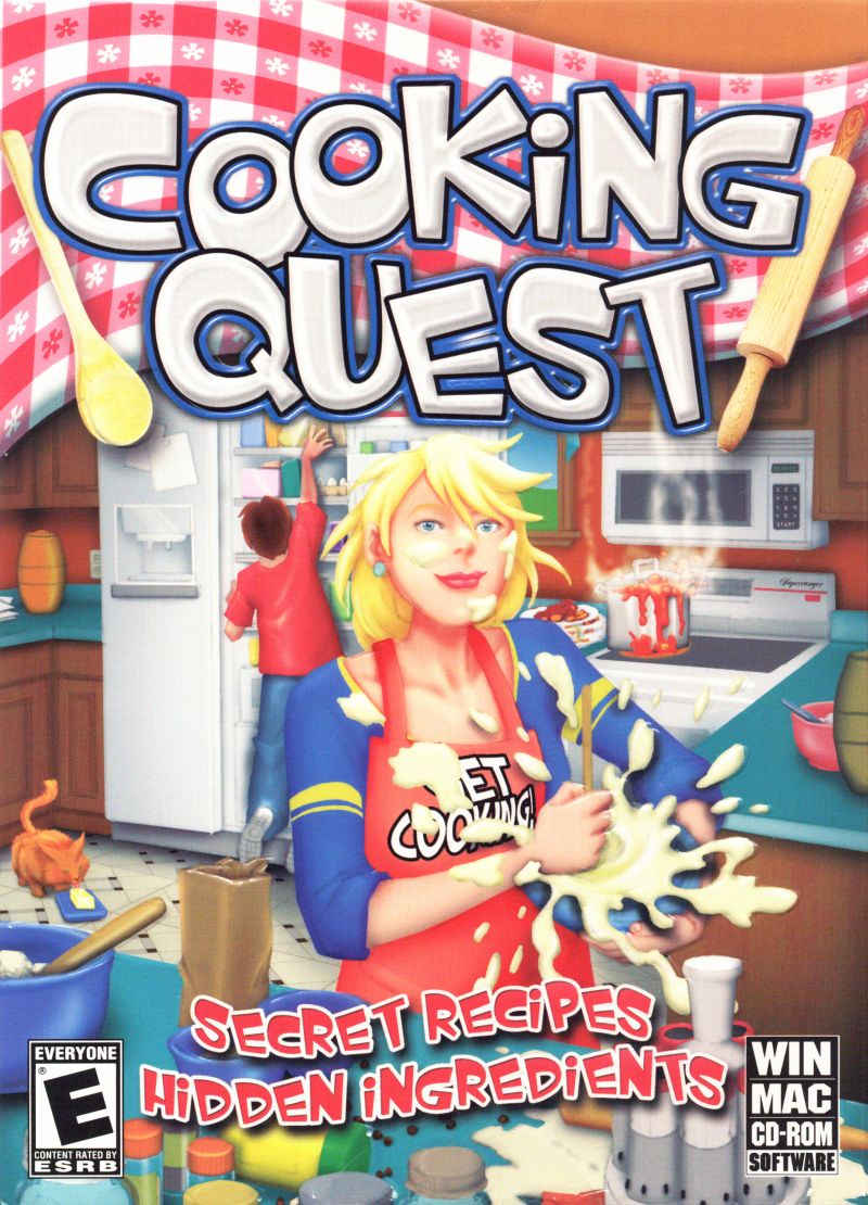 Cooking Quest Macintosh Front Cover