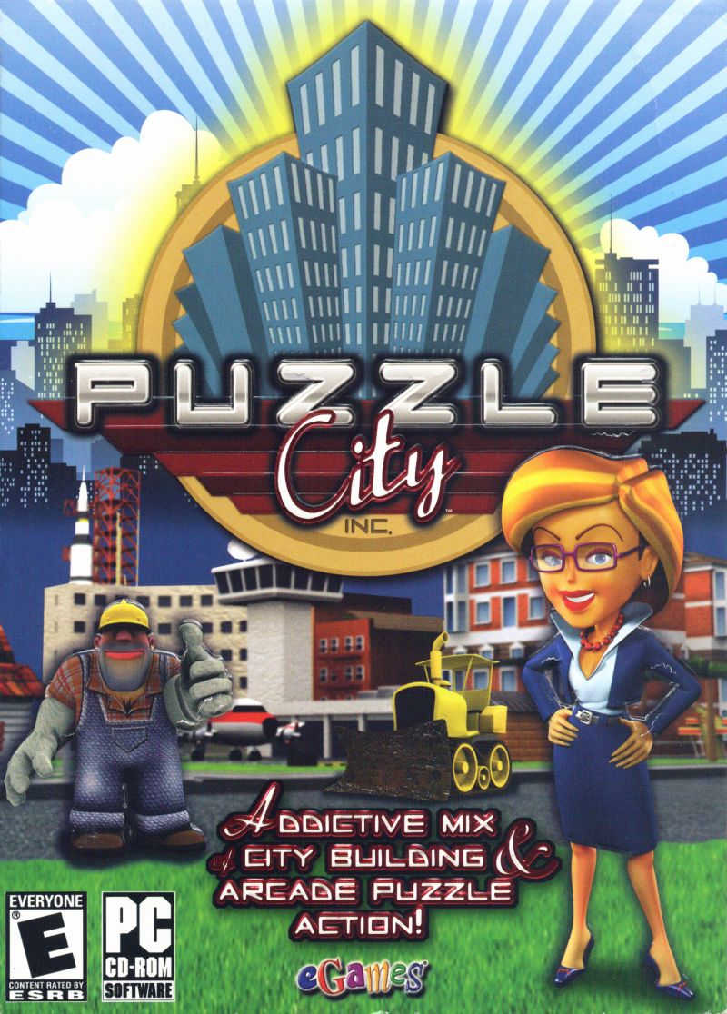 Puzzle City Windows Front Cover