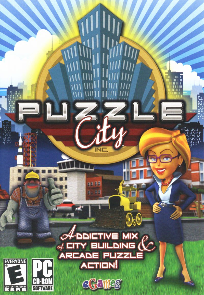 Puzzle City Windows Other Keep Case - Front