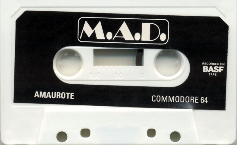 Amaurote Commodore 64 Media