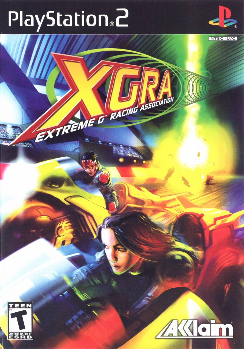 XGRA: Extreme G Racing Association PlayStation 2 Front Cover