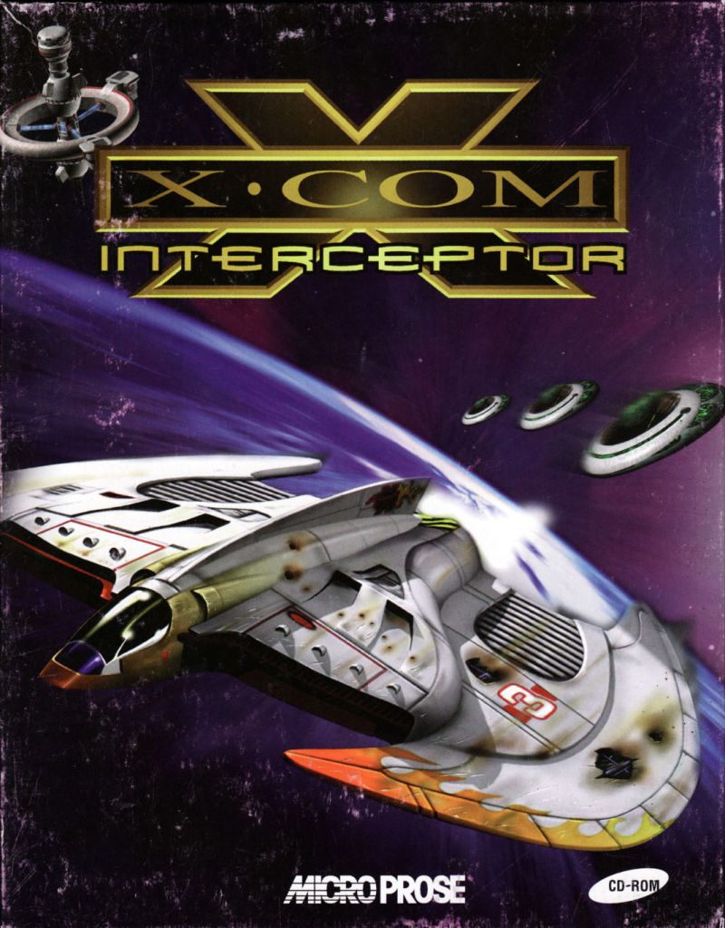 X-COM: Interceptor Windows Front Cover