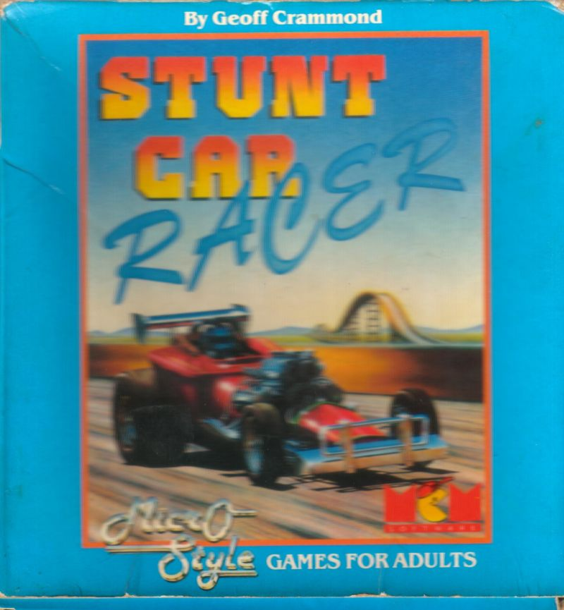 Stunt Track Racer Amstrad CPC Front Cover