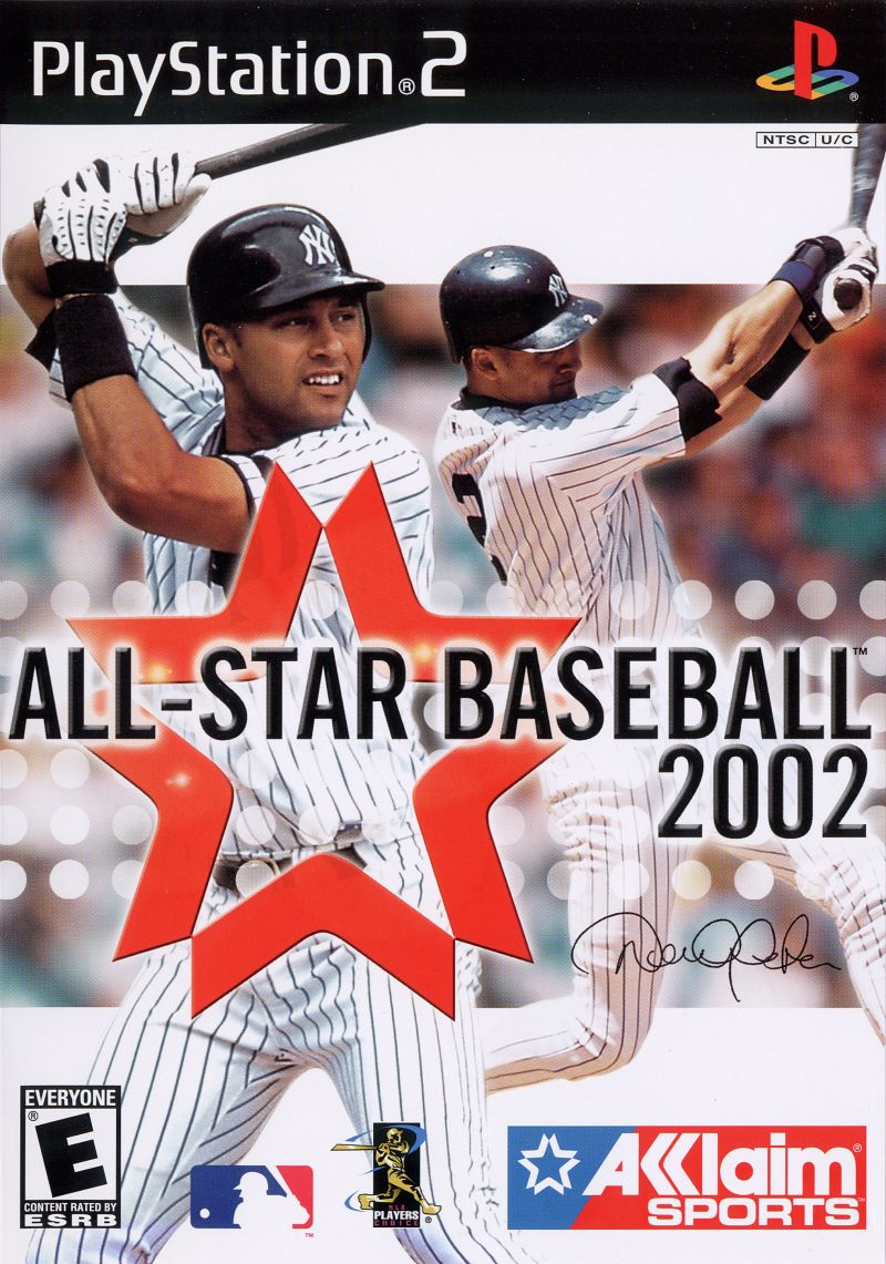 All-Star Baseball 2002 PlayStation 2 Front Cover
