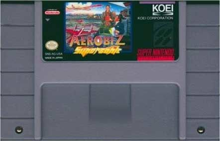 Aerobiz Supersonic SNES Media