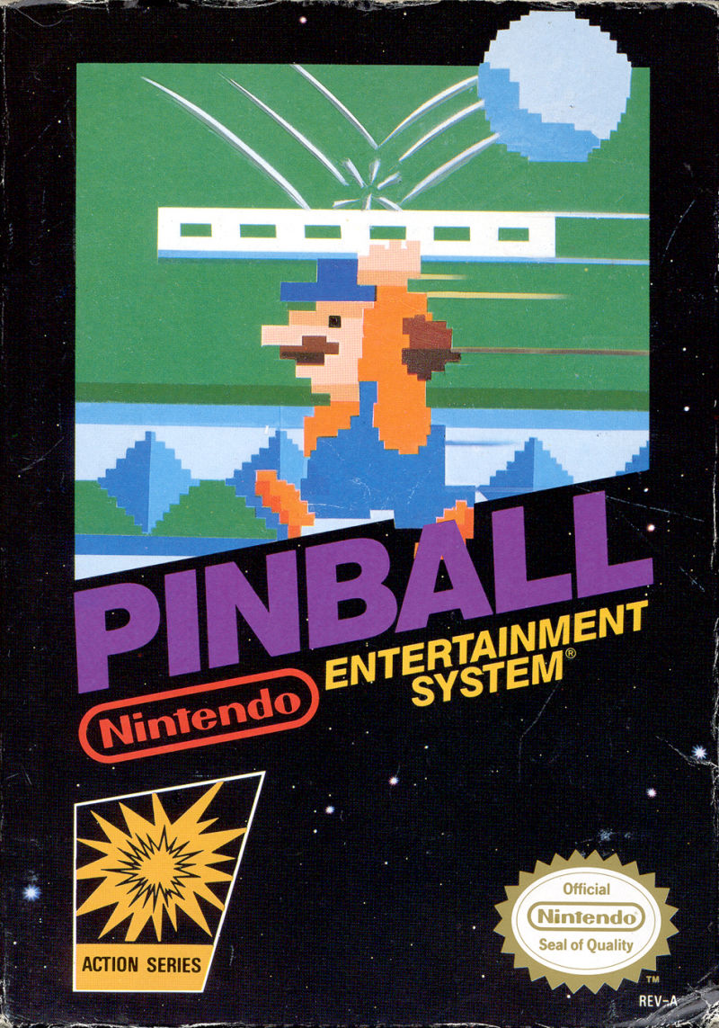 Pinball NES Front Cover