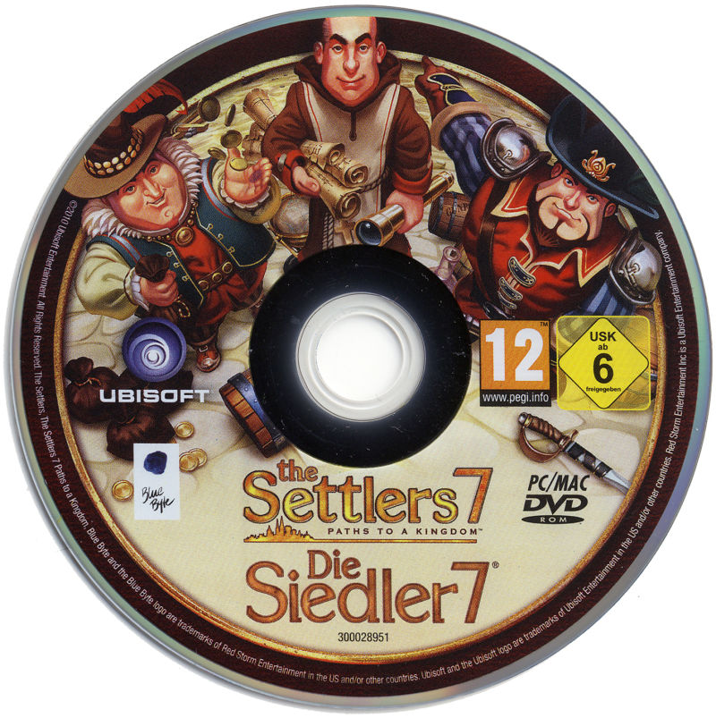 The Settlers 7: Paths to a Kingdom (Collector Edition) Macintosh Media Game Disc