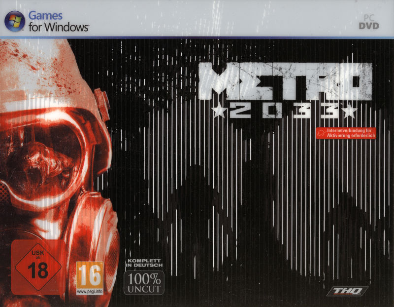 Metro 2033 (Special Edition) Windows Front Cover