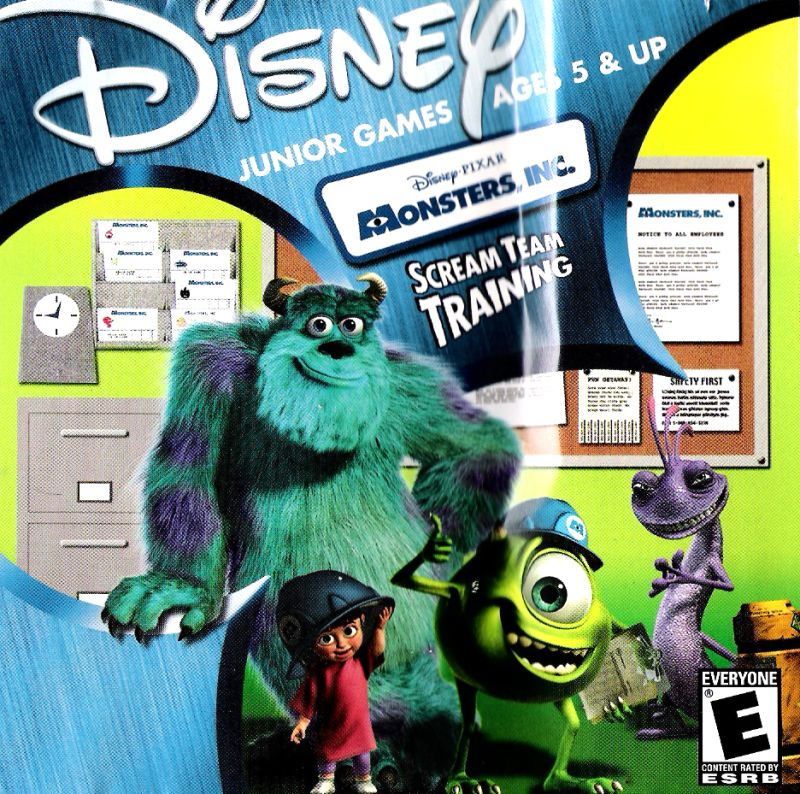 Disney•Pixar Monsters, Inc.: Scream Team Training for Macintosh ...