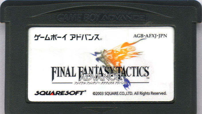 Final Fantasy Tactics Advance Game Boy Advance Media