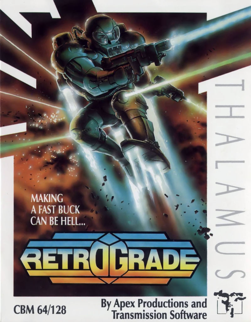 Retrograde Commodore 64 Front Cover