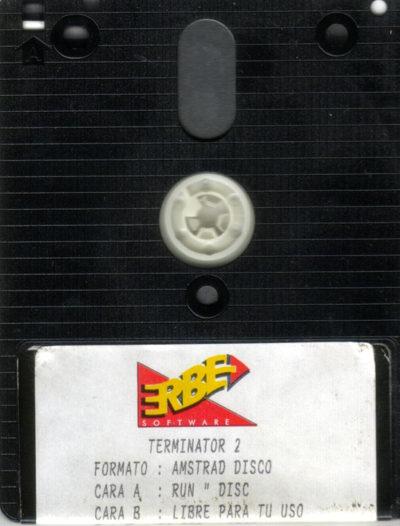 Terminator 2: Judgment Day Amstrad CPC Media