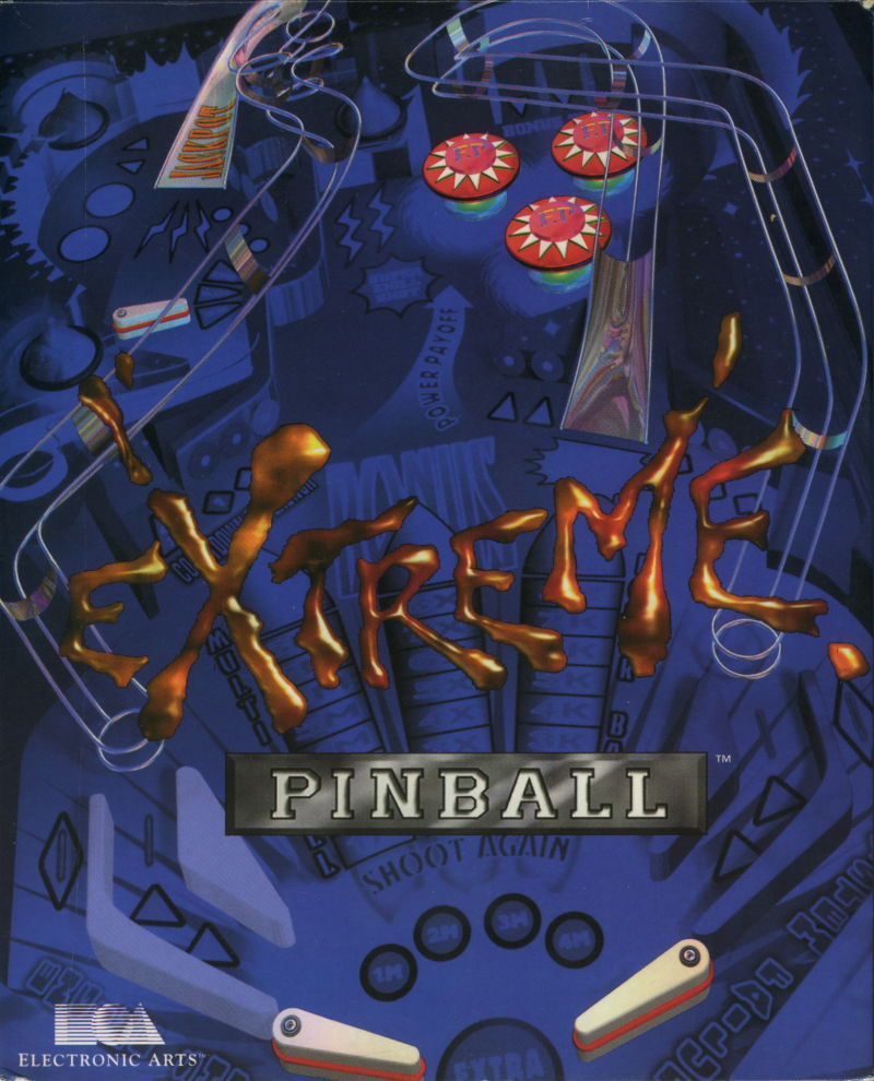 Extreme Pinball DOS Front Cover