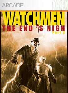 Watchmen: The End is Nigh - Part 2 Xbox 360 Front Cover