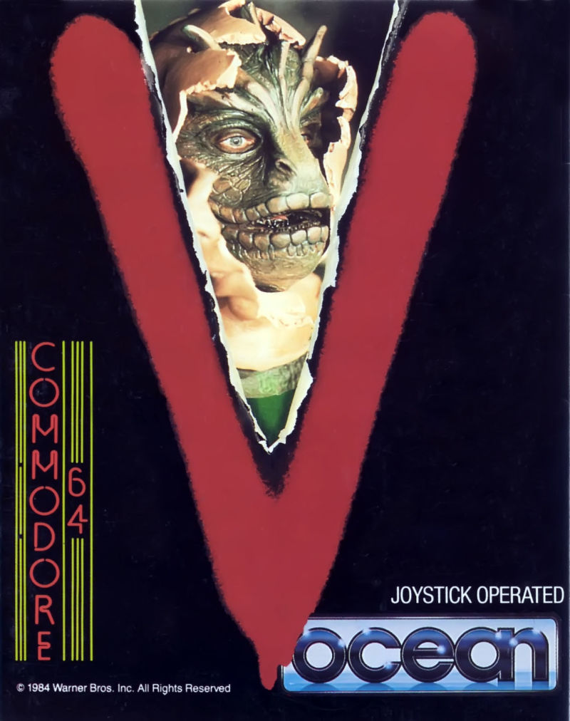 V Commodore 64 Front Cover
