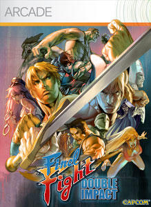 Final Fight: Double Impact Xbox 360 Front Cover
