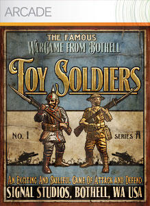 Toy Soldiers Xbox 360 Front Cover