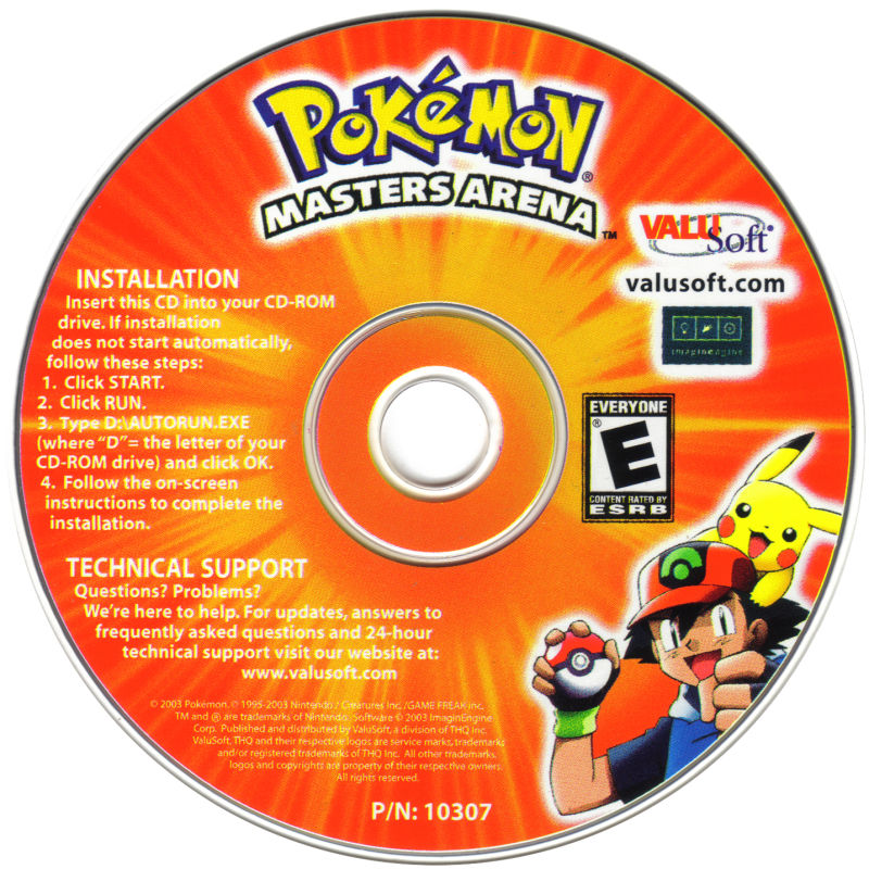 Pokémon: Masters Arena Windows Media