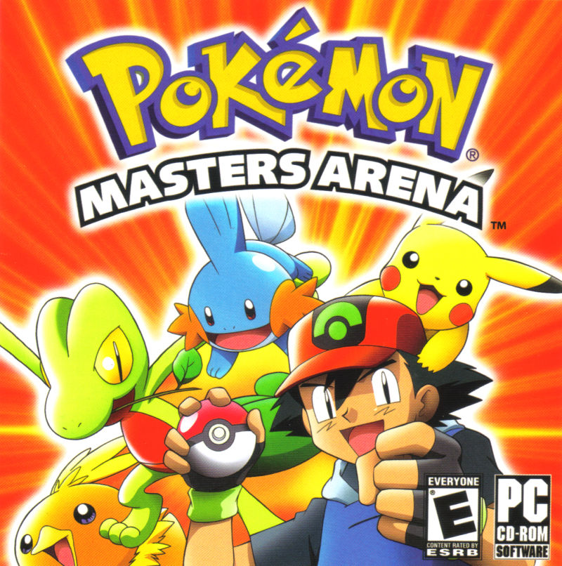 Pokémon: Masters Arena Windows Other Jewel Case Front