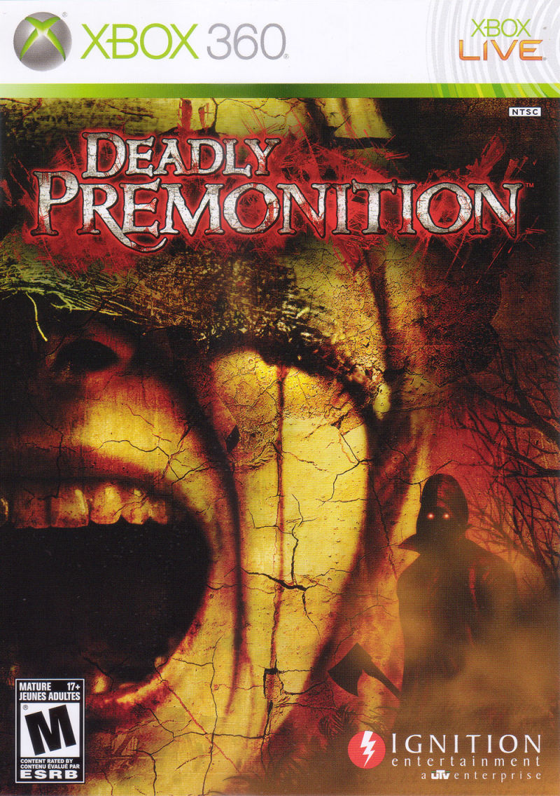Deadly Premonition (2010) PlayStation 3 box cover art ... Xbox 360 Game Cover Size