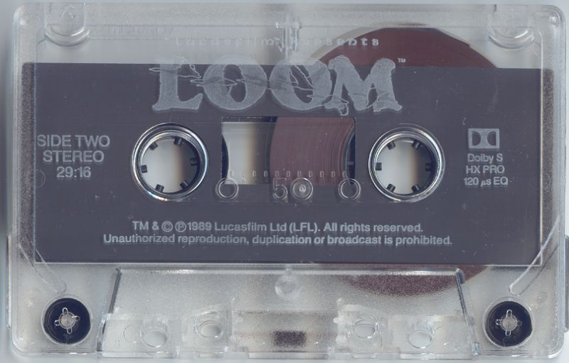 Loom DOS Other Audiobook Cassette Tape