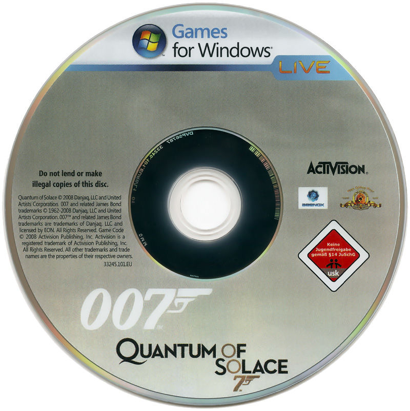 007: Quantum of Solace Windows Media