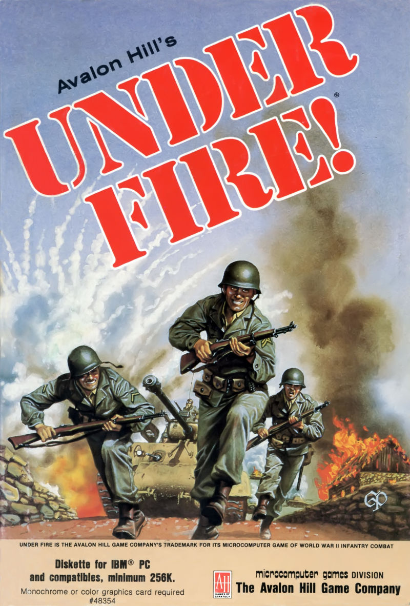 Under Fire! DOS Front Cover