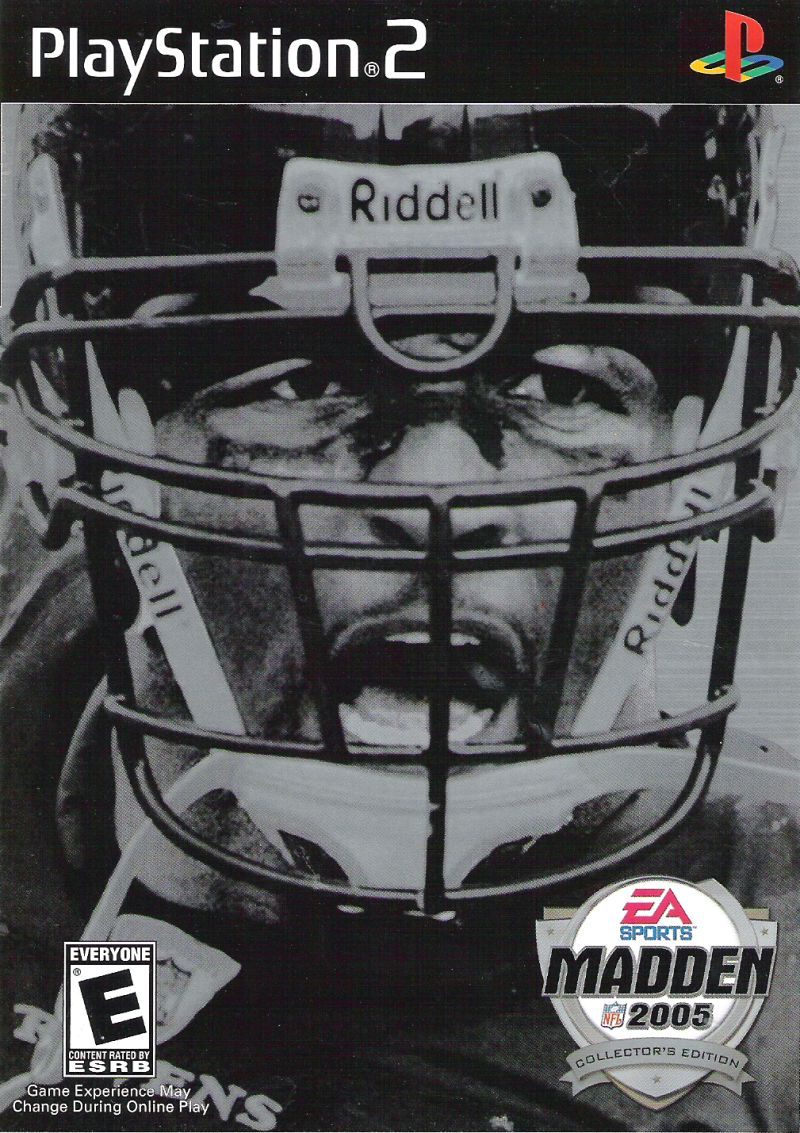 Madden NFL 2005 (Collector's Edition) PlayStation 2 Other Keep Case - Front