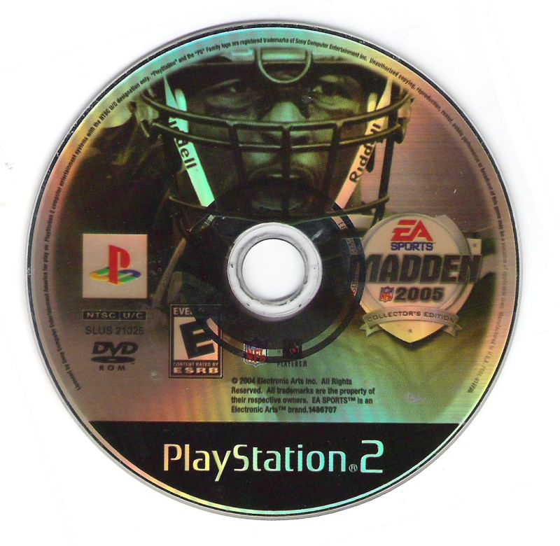 Madden NFL 2005 (Collector's Edition) PlayStation 2 Media
