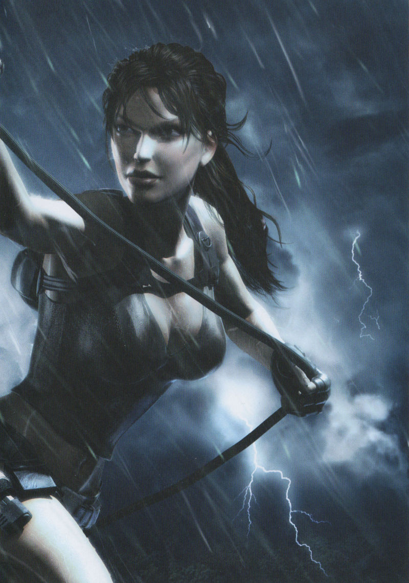 Tomb Raider: Underworld Windows Other Game Keep Case Inlay Right