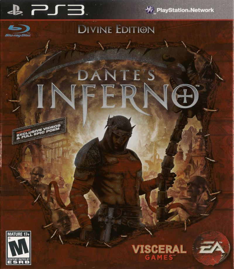 Dante's Inferno (Divine Edition) PlayStation 3 Front Cover