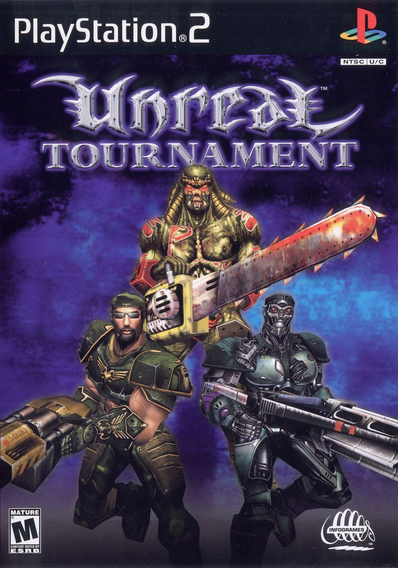 Unreal Tournament PlayStation 2 Front Cover