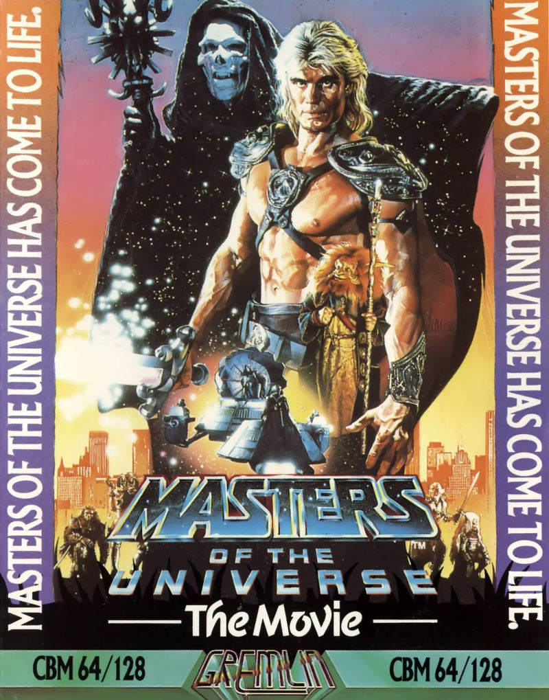 Masters of the Universe: The Movie Commodore 64 Front Cover