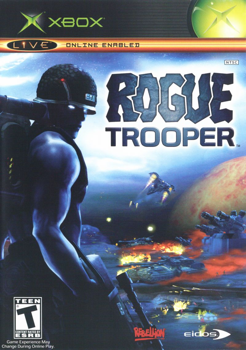 Rogue Trooper Xbox Front Cover