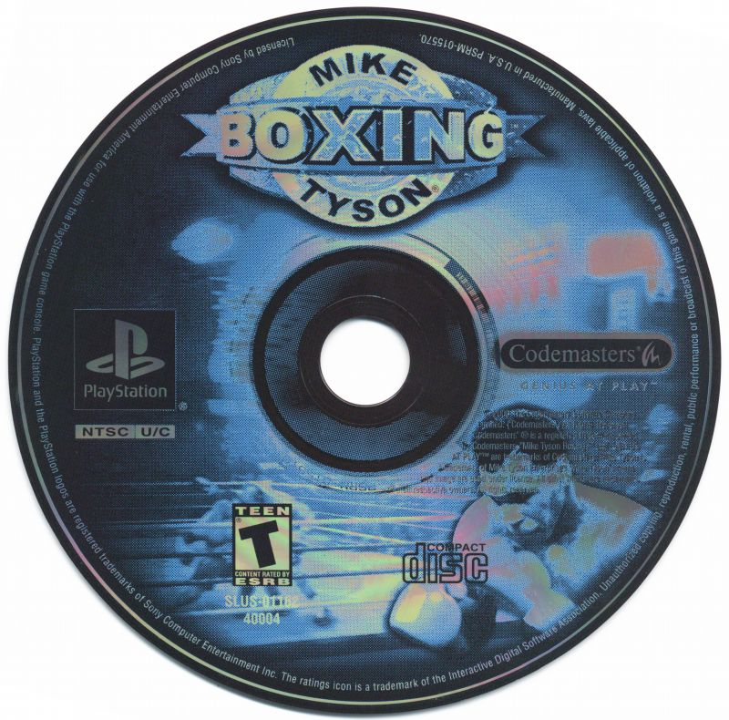 Mike Tyson Boxing PlayStation Media