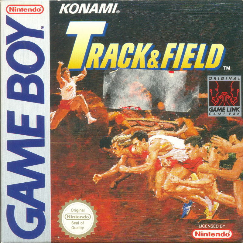Track & Field Game Boy Front Cover