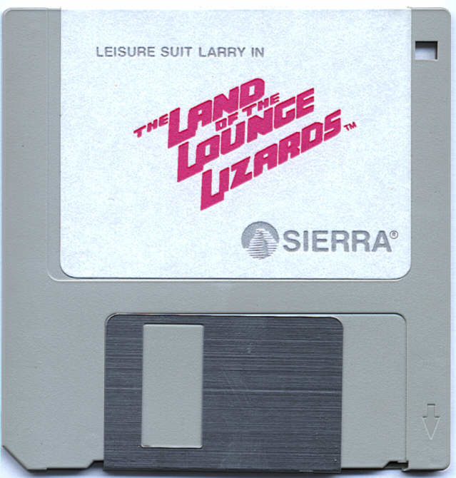Leisure Suit Larry in the Land of the Lounge Lizards Atari ST Media 3.5 Game Disk 1 of 2
