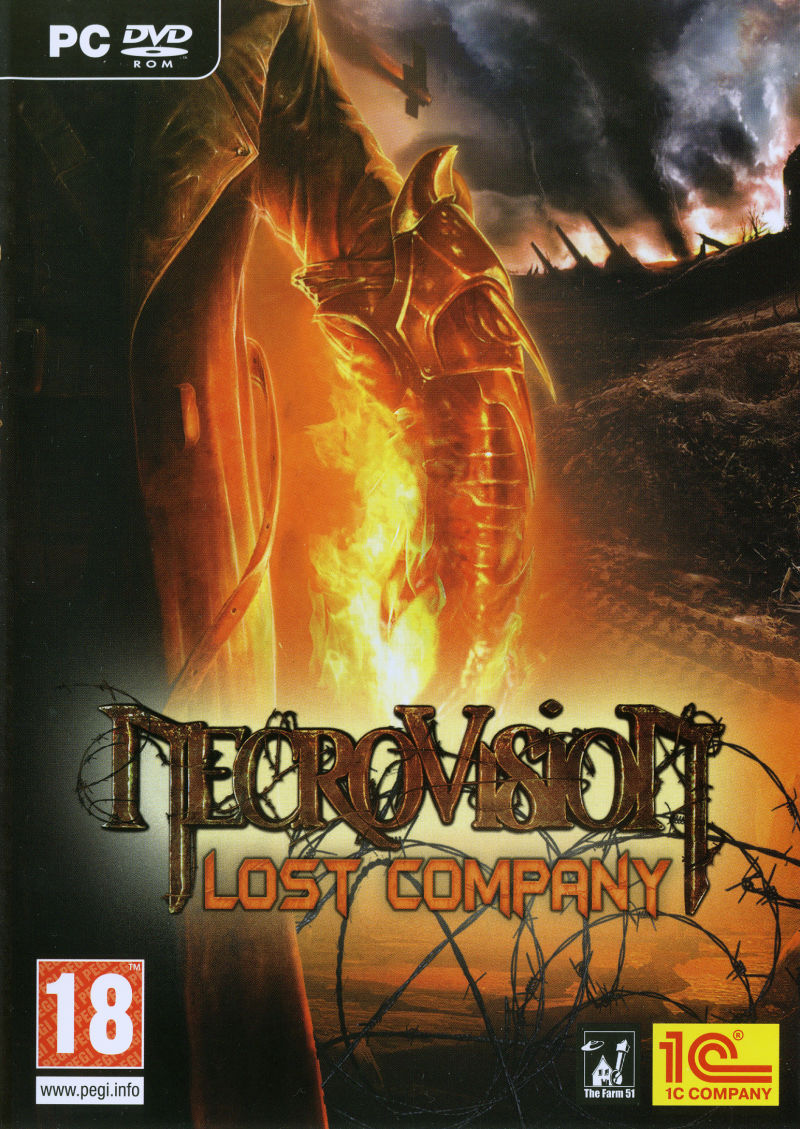 NecroVisioN: Lost Company Windows Front Cover