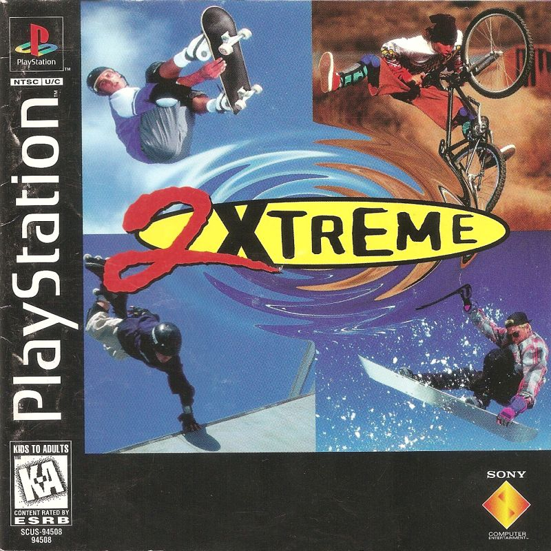 2Xtreme PlayStation Front Cover