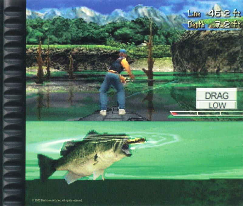 Championship Bass PlayStation Inside Cover Right