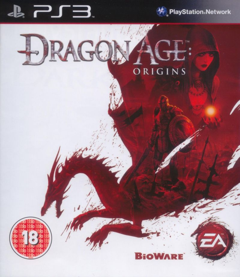 Dragon Age: Origins PlayStation 3 Front Cover