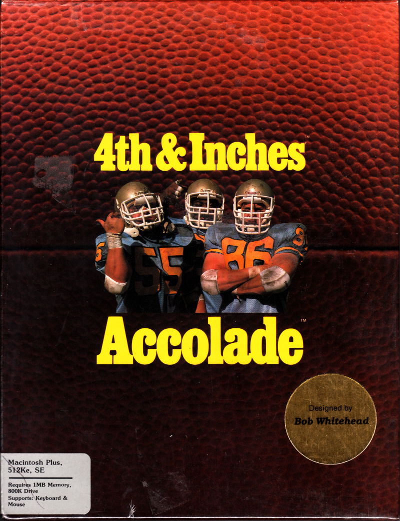 4th & Inches Macintosh Front Cover