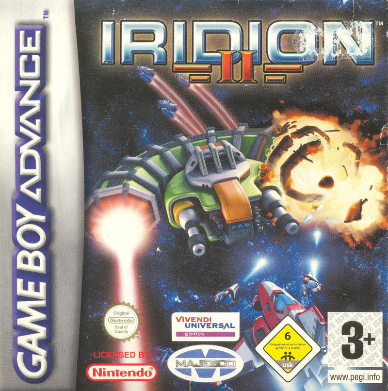 Iridion II Game Boy Advance Front Cover