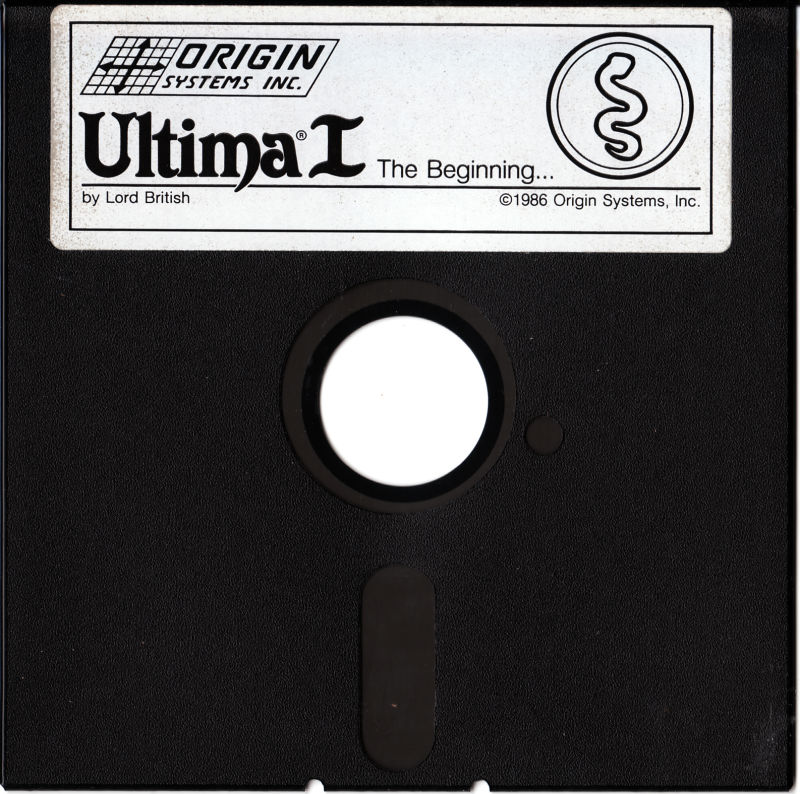Ultima I: The First Age of Darkness Apple II Media