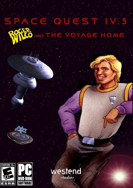 Space Quest IV.5: Roger Wilco And The Voyage Home Windows Front Cover