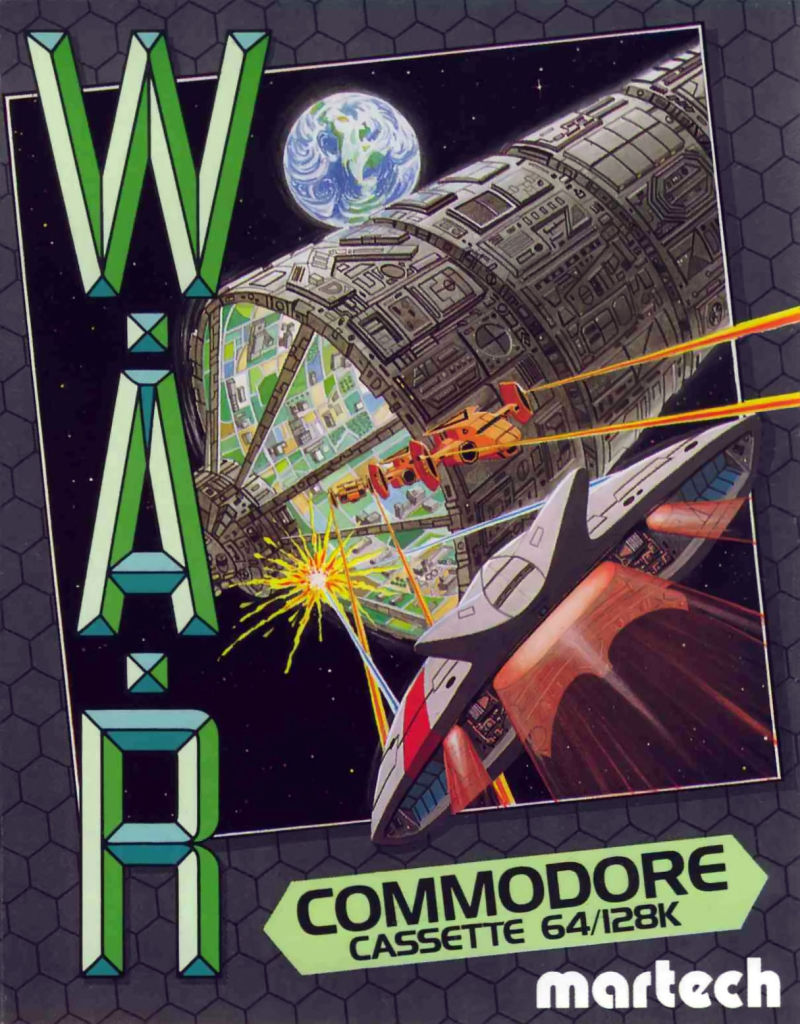 W.A.R Commodore 64 Front Cover