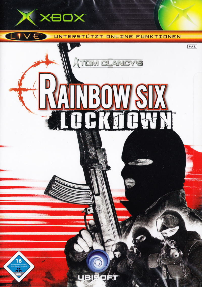 Tom Clancy's Rainbow Six: Lockdown Xbox Front Cover